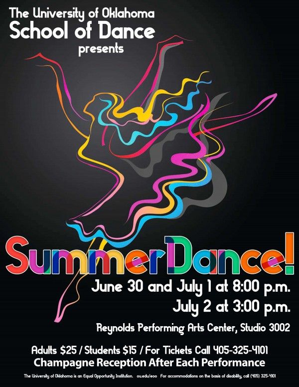 SummerDance! 2017 Flyer