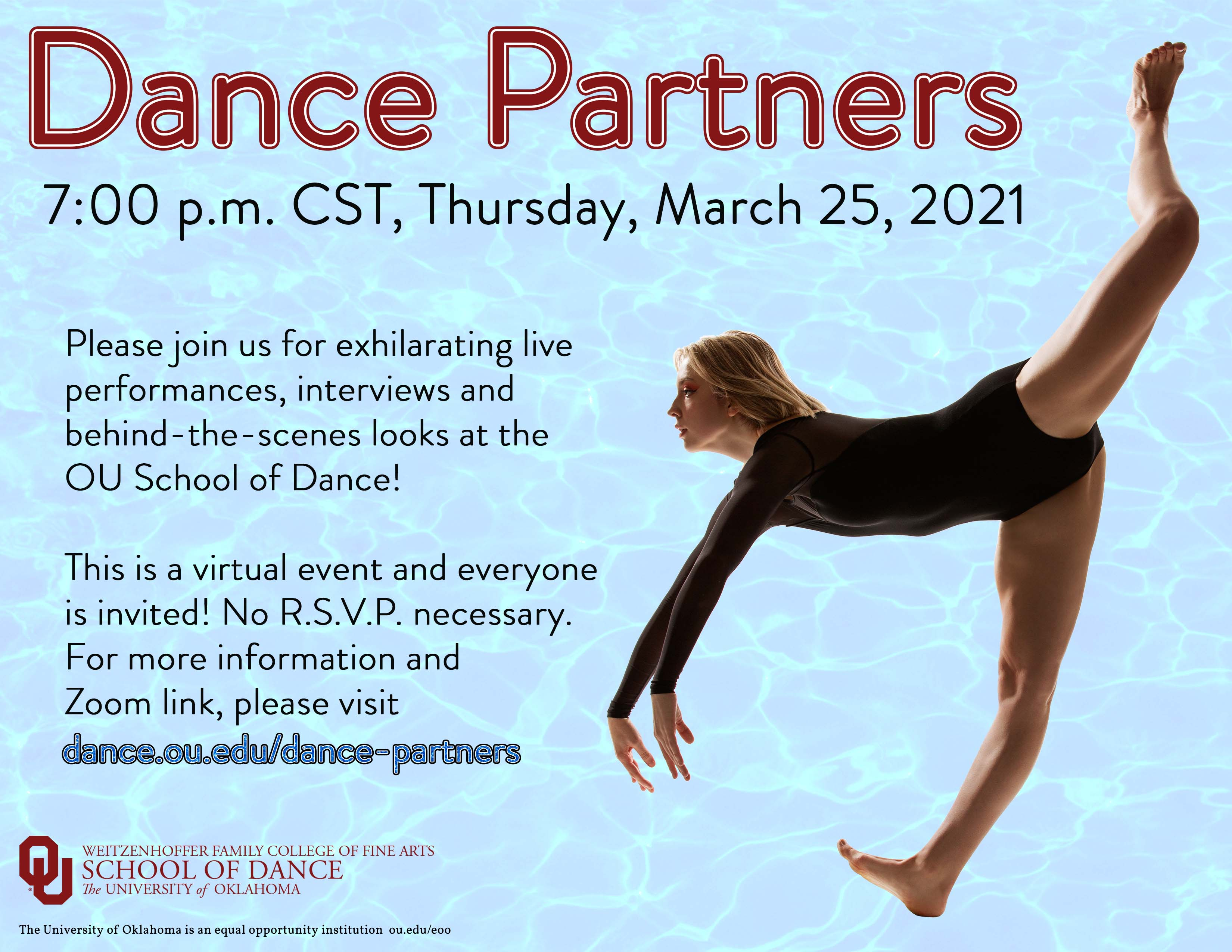 Dance Partners Event Flyer